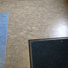 Marmoleum sheet flooring