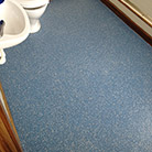 Flooring for office toilets