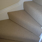 Fitted carpets for stairs and landings