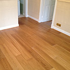 Laminate flooring installation