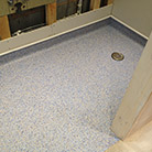 Safetred Aqua Safety Flooring in shower rooms and bathrooms