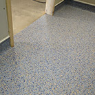 Installing Safetred Aqua Safety Flooring in wet rooms
